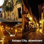 Xalapa City, downtown