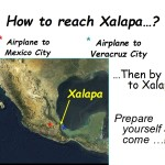 How to reach Xalapa